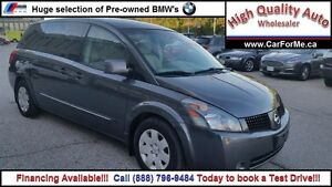2004 Nissan Quest 3.5 S| Two to choose from| Call  1 888 796 948