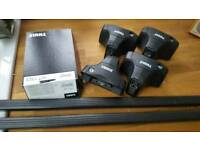 Thule Square Roof Bars, Feet and Fixing Kit