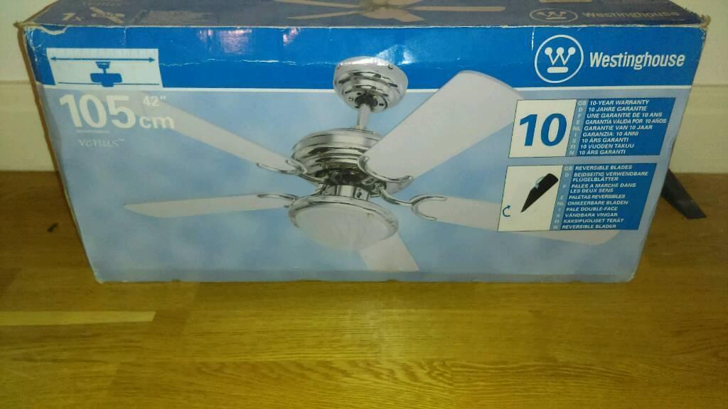 Westinghouse Venus ceiling fan light