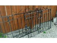 Two pair Metal drive gates