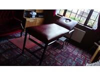 Massage table, static treatment couch reduced for quick sale