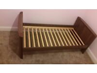 Cot / Bed with Draws and changing Table For Sale