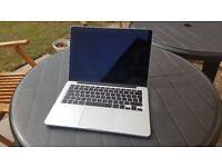 2014 Macbook Pro 13.3 Retina Core i5 2.6ghz 8gb 256sd 370