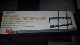 Universal tv wall bracket/mount