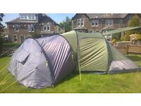 Up to 6 man EUROHIKE tent