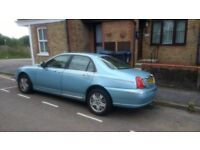 Rover 75 1.8 Turbo - manual in great cosmetic condition