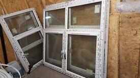 4 double glaze brand new windows