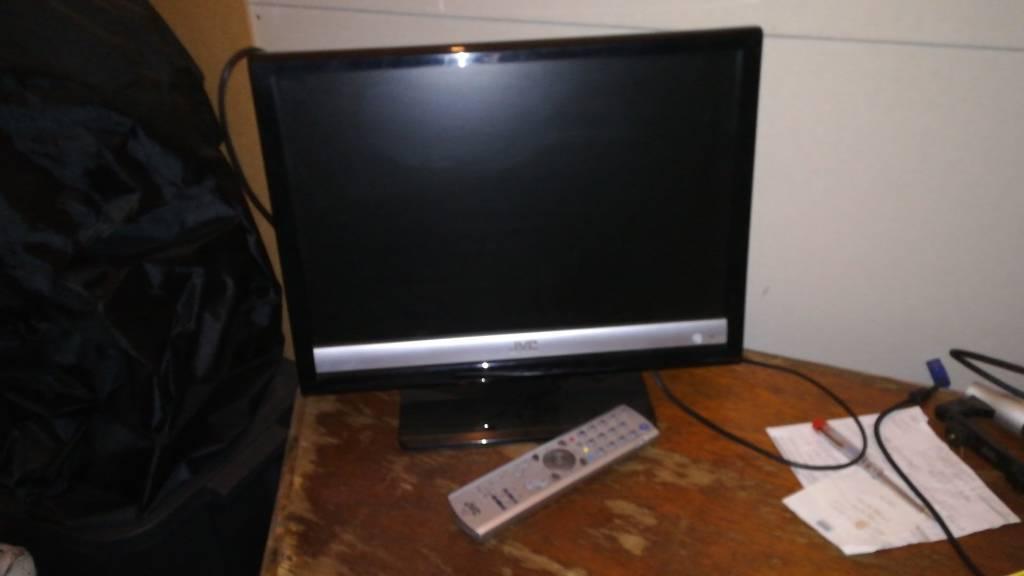 "JVC LCD TV / Computer Monitor. 19"""
