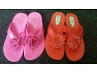 Ladies sandals size 5 and 6