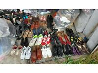 Second hand shoes for sale cream and Grade A
