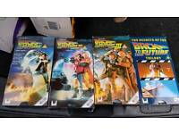 Back to the future vhs box set