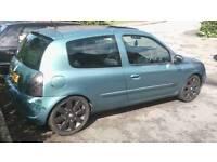 "2002 Renault Clio 1.4 16v *172 Sport Body kit, Suade Interior & 17"" Alloys* Long MOT!"