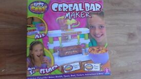 """Let's Cook"" Cereal Bar Maker, Great Xmas Present"