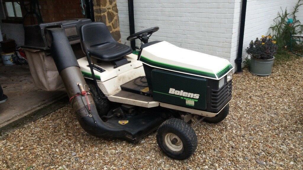 Bolens Riding Mower Will Not Start. Latest Image Is Loading ... on