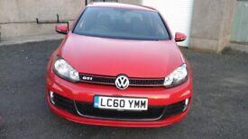 Volkswagen golf gti low miles excellent condition