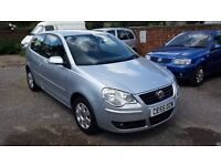 2005 VW POLO 1.4 PETROL SILVER 87,000 MILES FULL SERVICE HISTORY 12 MONTHS MOT NEW CLUTCH & GEARBOX