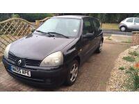 Renault Clio (2005 reg) bargain