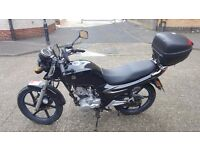 SYM XS 125cc Motorcycle for sale....SOLD