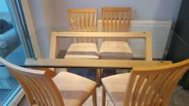 Beautiful john lewis table and chairs