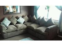 Brand new corner sofa 300