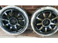 Vw rs4 style wheels 5x100-5x112 swaps!