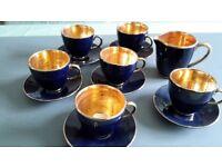13 piece Pottery Coffee Set