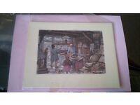 Anton Pieck bundles of prints for 3-D decoupage pictures