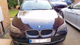 BMW 5 Series 520D SE Black colour Diesel