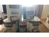 5 tins of paint for sale