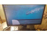 """Functioning Acer 24"""" monitor v243hl 1080p (damaged pixels in screen)"""