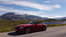 Rare! BMW Z4M Roadster in Imola Red **56000 MILES**F.S.H**Ap Brakes**CSLs**Immaculate Throughout