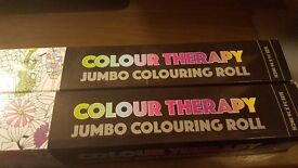 3 Different types of 'Colour Therapy Posters' - Beautiful artwork - NEW AND UNOPENED - 24 x 36 inch