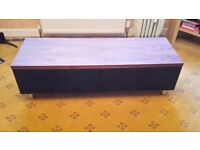 Widescreen TV Stand / DVD cabinet - as new - COLLECTION ONLY