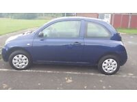 For Sale 55 Plate Nissan Micra 1.2