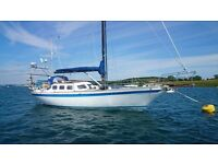 ENDURANCE 37 SAILING YACHT WORLD CRUISER, LIVEABOARD £55000