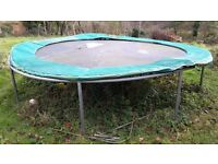 Trampoline large, free to a good home. Exmouth area.