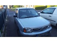 Nissan Micra. 12 months MOT . Low mileage. £375
