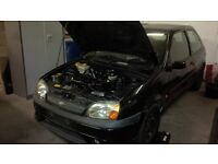 2002 Ford Fiesta Zetec S Breaking for Spares, mk5 panther black..