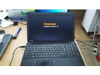 Toshiba Laptop. Intel® Pentium® 2.4 GHz. 8 GB DDR3 RAM. 500 GB Hard Drive. Win 10.