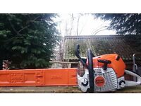 Stihl MS441 Chainsaw In As New Condition
