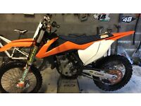 Ktm 350 sxf 2016 motocross bike