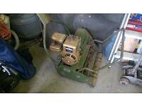 lawnmower webb 18