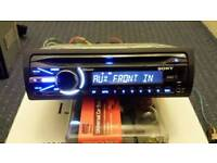 Cd player sony bluetooth usb aux in