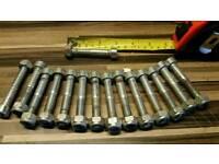 Screws with nuts socket screws