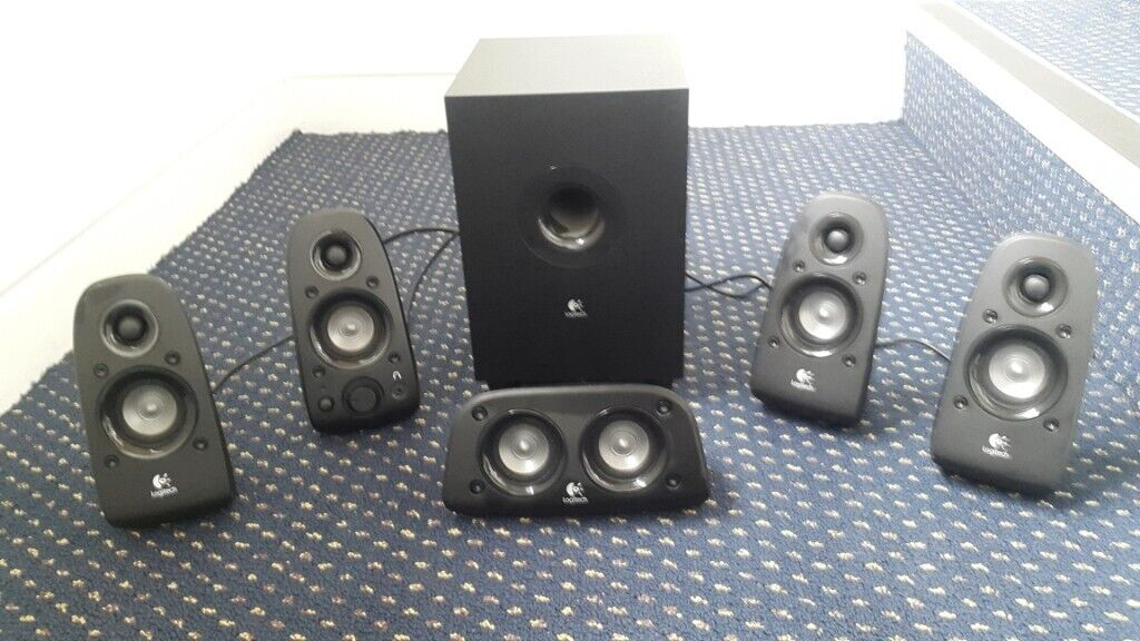 Logitech Z506 Surround Sound Speakers (Must go by Wednesday!) | in East  Finchley, London | Gumtree