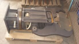Hydraulic rotating concrete cracker/pulverizer 8ton excavator