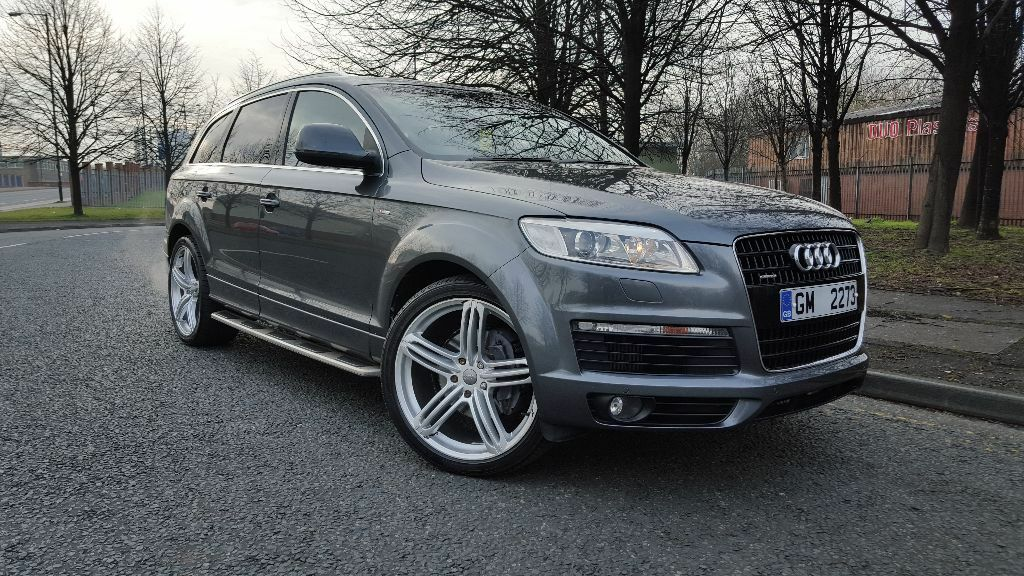 audi q7 3 0 tdi fully loaded 2007 dab tv xenons rs. Black Bedroom Furniture Sets. Home Design Ideas