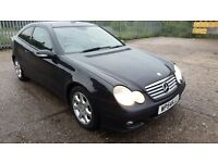 Mercedes-Benz C Class 2.1 C200 CDI SE 2dr, EXCELLENT CONDITION, LONG MOT, HPI CLEAR, 2 KEYS, FSH