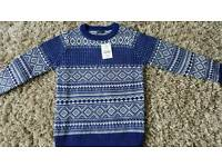 Boys NEW next jumper 8 years