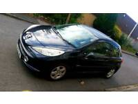 PEUGEOT 207 VERVE 2009 (59) BLACK 1.4 HDI DIESEL £30 TAX YEAR IDEAL 1ST CAR CHEAP INSURANCE